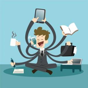 increase productivity -  multi-tasking
