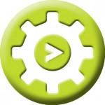 Abtrac Cog  button