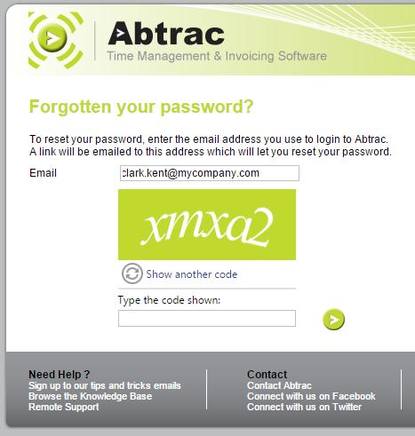8 passwordreset