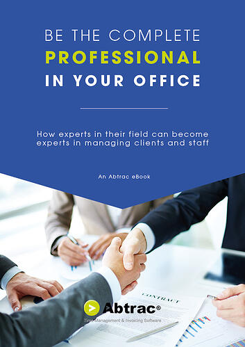 Abtrac Ebook - Be the complete professional in your office (New Cover)