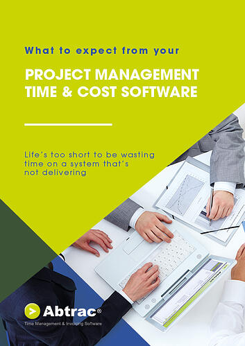 Abtrac Ebook - What to expect from your Project Management Time & Cost Software (new cover)-1