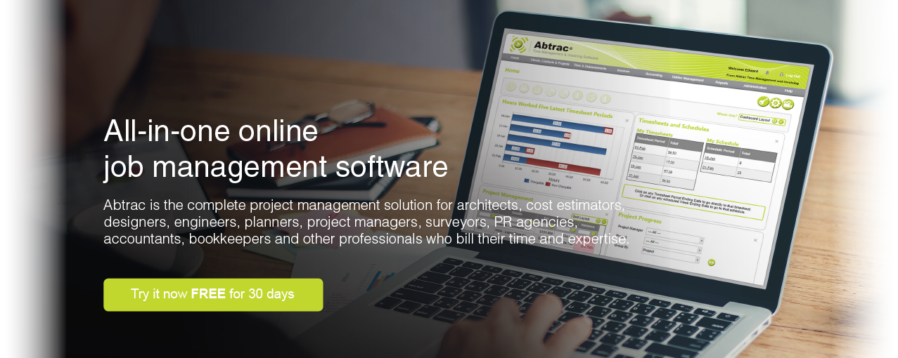 Abtrac is the leading all in one online job management software