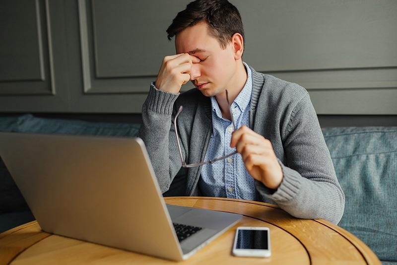Stressed businessman-1